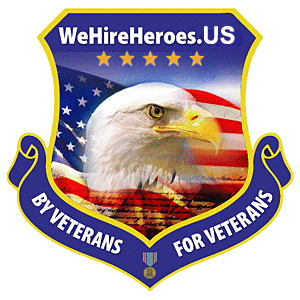 WeHireHeroes - shield logo